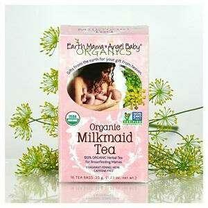 Earth Mama Angel Baby organic milkmaid tea