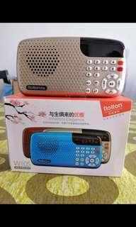SD card FM radio player