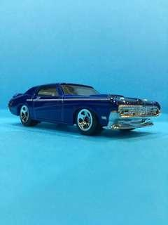 Hotwheels 1:64 '69 Mercury Cougar