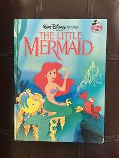 Disney the Little Mermaid A4 Size Hard Cover Book