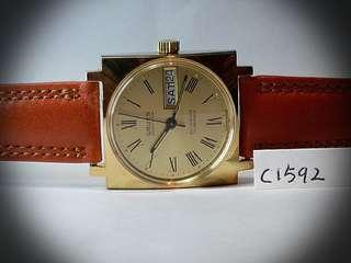 Guren watch 高路雲 ~Swiss Made ~ NOS New Old Stock 37mm Automatic  extremely rare, working perfectly.