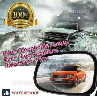 Rain Resistant proof coated Hydrophobic soft TPU membrane for car side mirrors