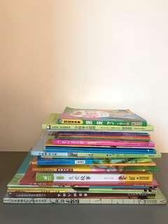 More than 20 Chinese Story Books