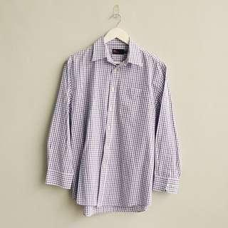 M&S Gingham Button Down