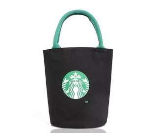 Starbucks Black Tote Bag