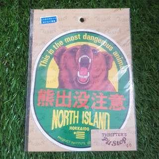 Japan Bear Stickrr