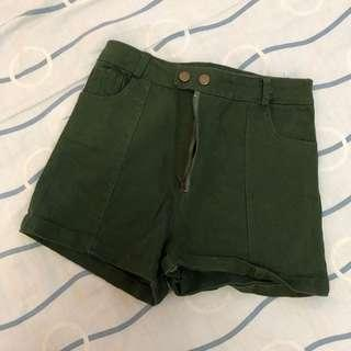 Short pants - Army green