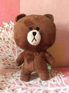 #SINGLES1111 Brown Plush Doll