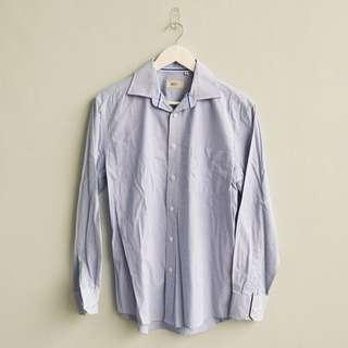 UNBRANDED Blue Button Down