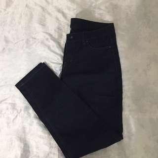 Dark blue jegging pants