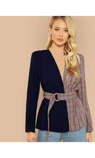 Plain multiwarna outerwear  Top