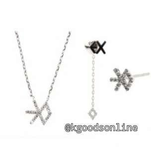 OFFICIAL | EXO ACCESSORIES - NECKLACE & EARRINGS