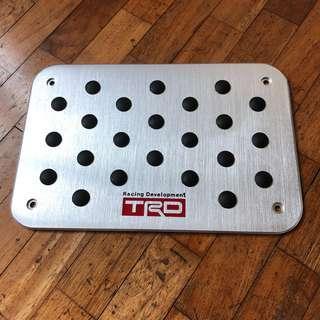 Toyota TRD Racing Heel Plate