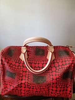 SALE!!! Rare limited edition Louis Vuitton Yayoi Kusama Speedy 30 from 5500
