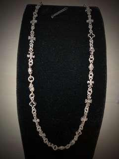 """100% authentic 925 Silver high quality beautiful and detail style necklace ! Very beautiful and cute. 22.4g 18"""" inch"""