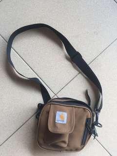 Carhartt brown sling bag