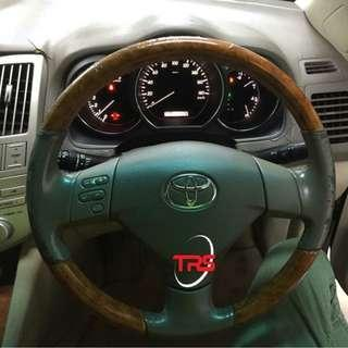 Toyota Harrier Dashboard, Steering & Gear Knob