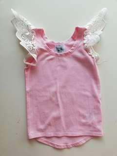 Penny&Co AU Angel Wings Top in EUC