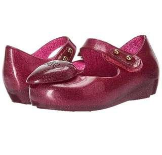 Mini Melissa Ultragirl Heart Me Ballet Flat Shoes