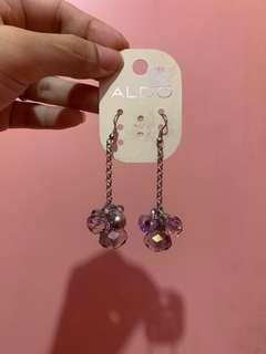 Aldo crystal beads earrings danglings