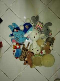 A lot Soft Toys