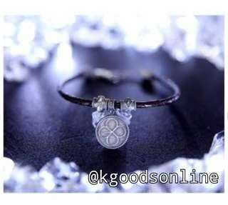 OFFICIAL | EXO ACCESSORIES - LEATHER BRACELET