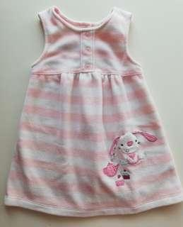 Mini Mode Baby Fleece Dress