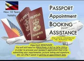 Passport Appointment Assistance ✈️