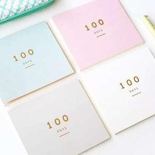 🚚 100 Days Planner #single11