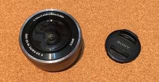 Sony SELP16-50mm 鏡頭 連蓋