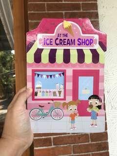 At the ice cream shop