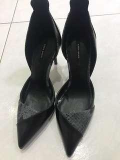 Zara black heels new