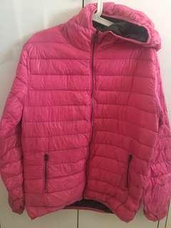 Pink Universal Traveller Down Jacket