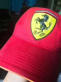 Ferrari Cap + Lanyard (Unisex)