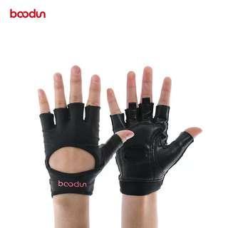 Boodun女士健身瑜伽騎車運動手套