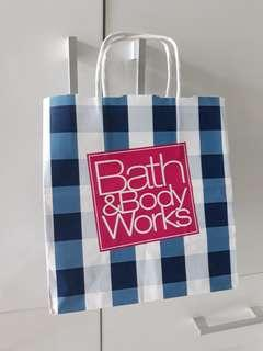 Bath and Body Works Paperbag S