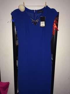 dress biru the executive