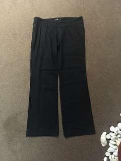 Woman drape wise pants