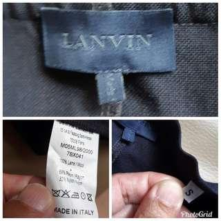 genuine made in Italy LANVIN short sleeve oversize shirt