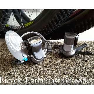Shifting Lever L/R SL-M4000 Shimano Alivio M4000 Shifter Bicycle Biking Bike Parts, Cycling