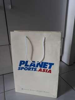 Planet sports paperbag