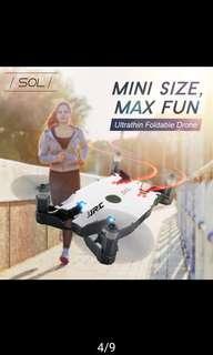 JJRC H49 SOL720P Wifi Fpv Ultrathin Flodable Selfie Drone