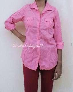 Kemeja Pink by Connexion