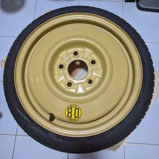 [New] Toyo Spare Wheel + Tyre