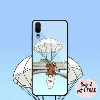 We Bare Bear Hot Air Balloon iPhone/Huawei/Oppo/Samsung Case