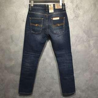 BNWT Nudie Jeans Grim Tim Sublime Blue