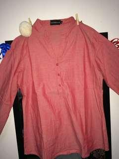blouse merah the executive