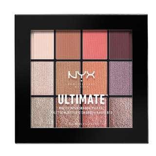 [現貨在台][美國代購] NYX 百變玩味玩轉質地十二色眼影盤Ultimate Multi-Finish Shadow Palette