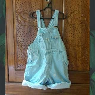 Overall baby blue