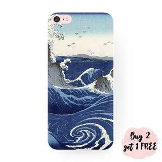 The Great Mighty Wave iPhone/Huawei/Oppo/Samsung Case